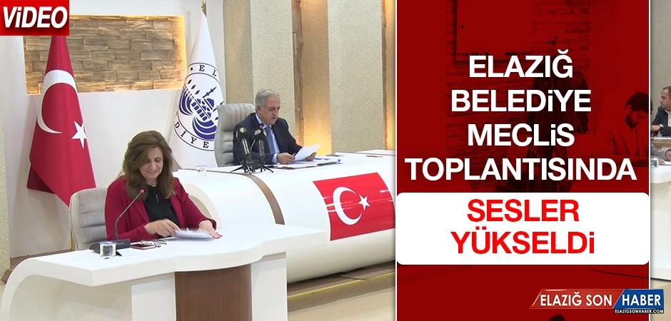 Elazığ Belediyesi Kasım Ayı Meclis Toplantısı