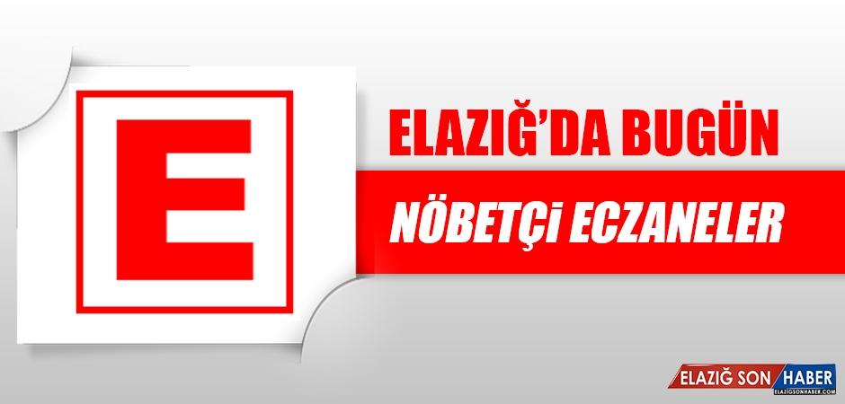 Elazığ'da 15 Kasım'da Nöbetçi Eczaneler