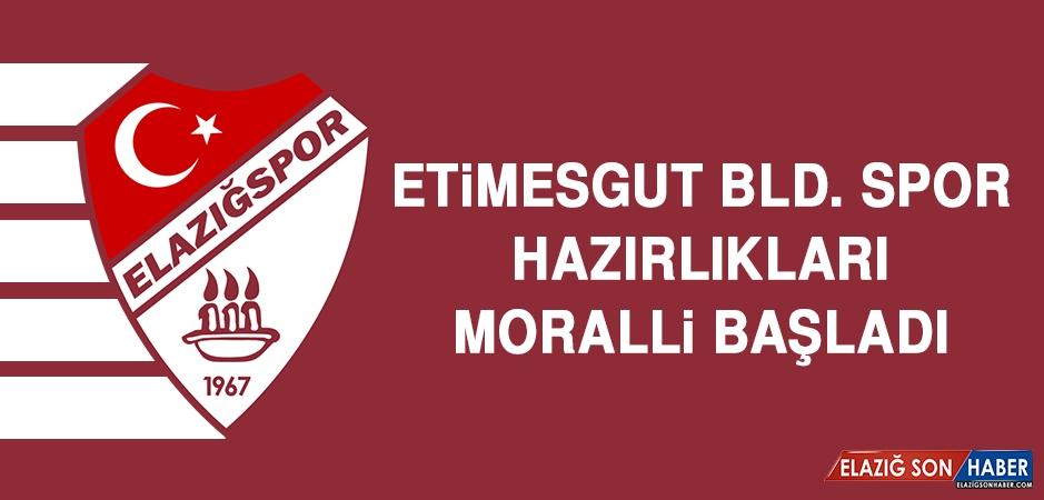 Etimesgut Bld. Spor Hazırlıkları Moralli Başladı