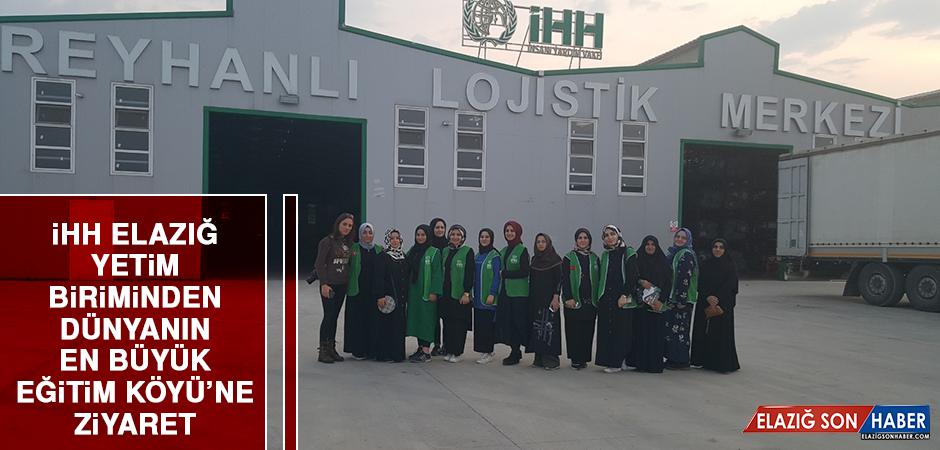 İHH Elazığ Yetim Birimi'nden Dünyanın En Büyük Eğitim Köyü'ne Ziyaret