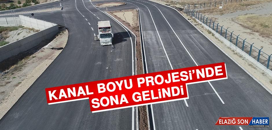 Kanal Boyu Projesi'nde Sona Gelindi