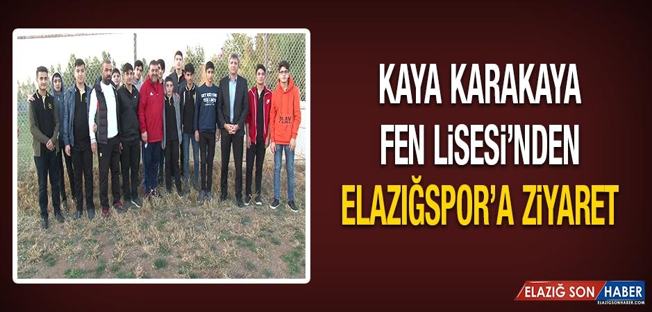 Kaya Karakaya Fen Lisesi'nden Elazığspor'a Ziyaret…