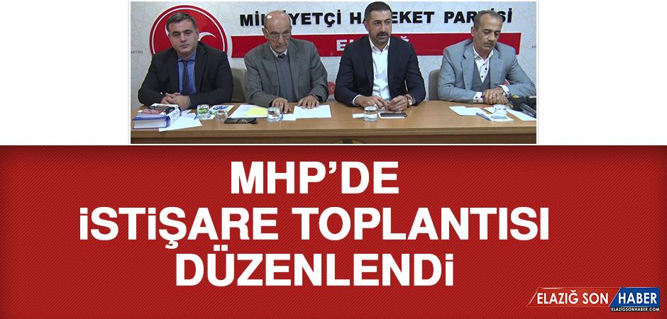 MHP'de, İstişare Toplantısı Düzenlendi