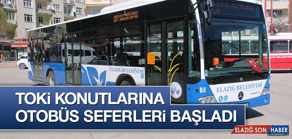 TOKİ Konutlarına Otobüs Seferleri Başladı