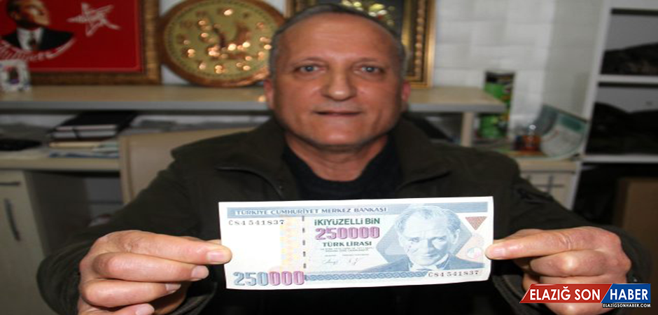 250 Bin Lirayı Bugünkü 250 Bin Liraya Satmak İstiyor