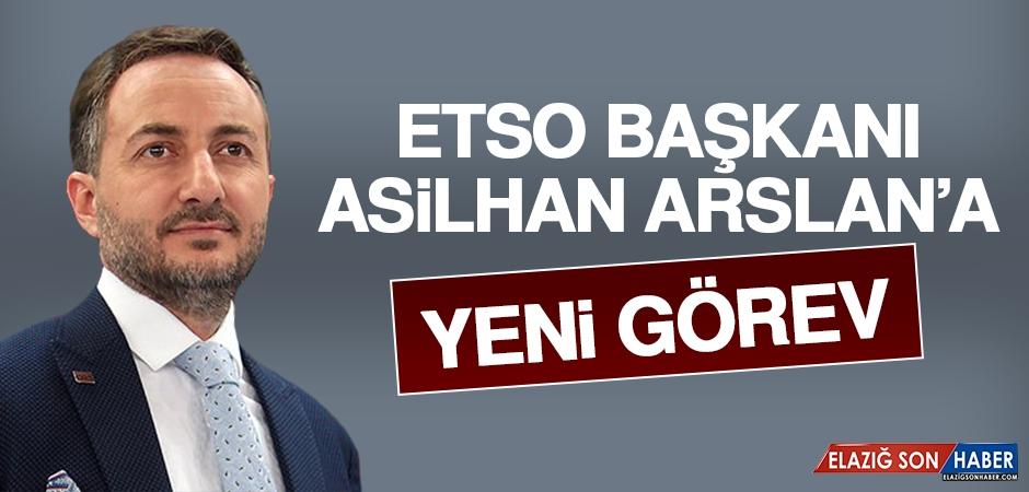 Asilhan Arslan'a Yeni Görev