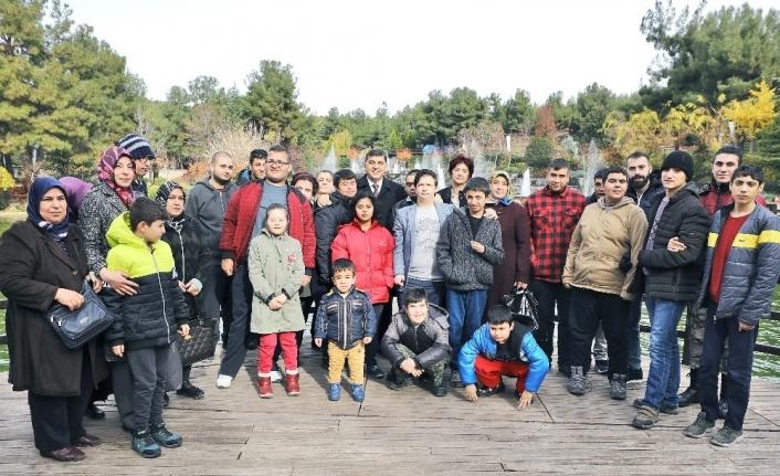 Başkan Fadıloğlu, engellileri ve ailelerini konuk etti