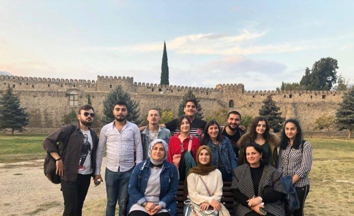 Düzce Üniversitesi öğrencileri Gürcistan'ı ziyaret etti