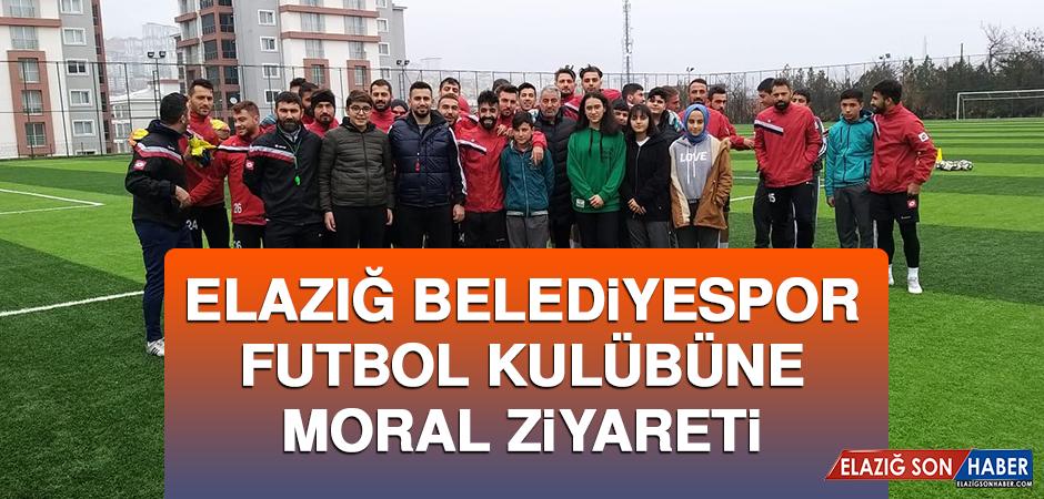 Elazığ Belediyespor Futbol Kulübüne Moral Ziyareti