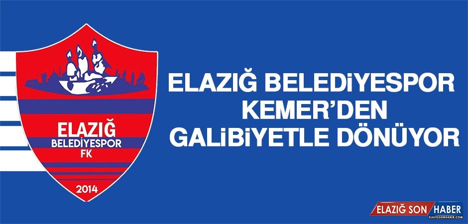 Elazığ Belediyespor, Kemer'den Galibiyetle Dönüyor