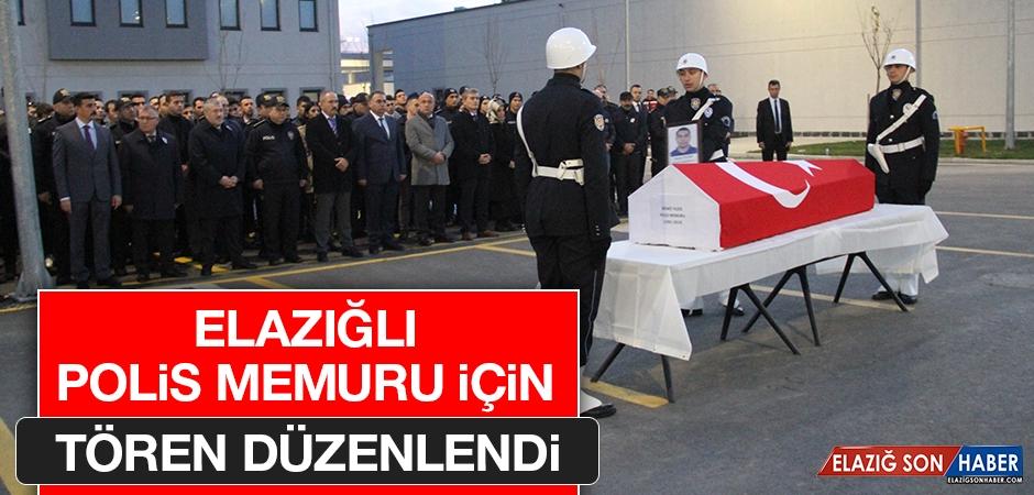 Polis Memuru Törenle Memleketi Elazığ'a Gönderildi