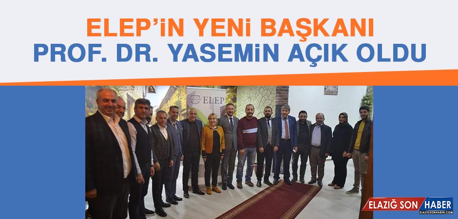 ELEP'in Yeni Başkanı Prof. Dr. Yasemin Açık Oldu