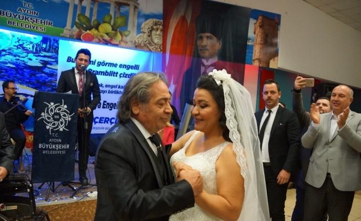 Engelliler Günü'nde evlendiler
