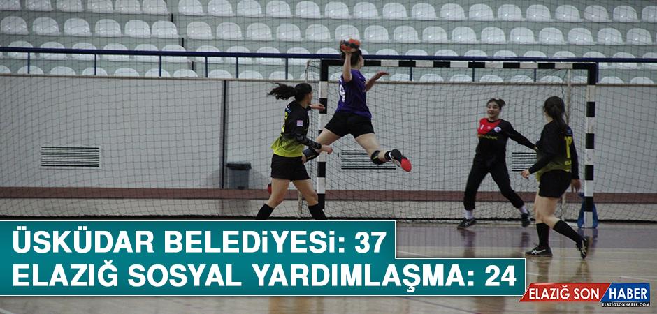 Hentbol Kadınlar Türkiye Kupası Oynandı