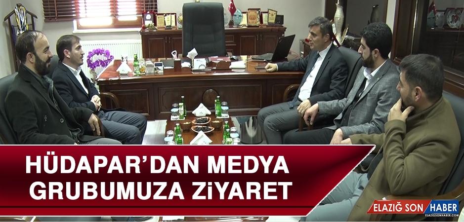 HÜDAPAR'dan Medya Grubumuza Ziyaret