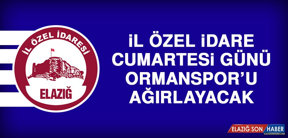 İl Özel İdare, Cumartesi Günü Ormanspor'u Ağırlayacak