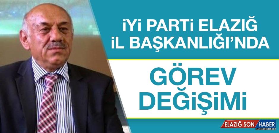 İYİ Parti Elazığ İl Başkanlığı'nda Görev Değişimi