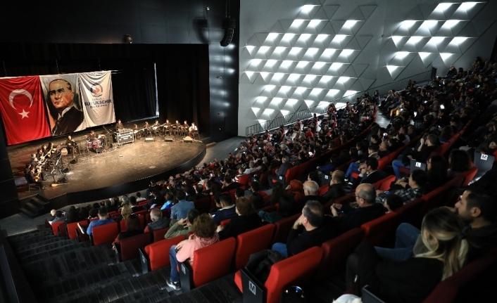 Kursiyerlerden göz dolduran konser