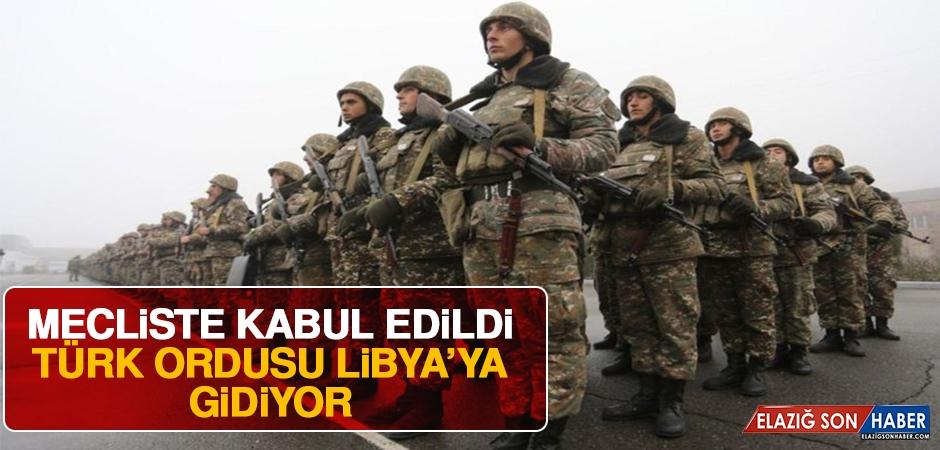 Libya İle Askeri İş Birliği Anlaşması Teklifi, Meclis Genel Kurulu'nda Kabul Edildi