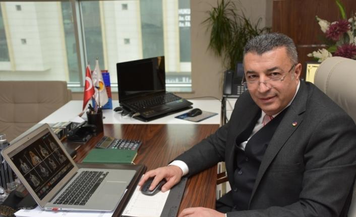 Malatya Ticaret Borsası Başkanı Ramazan Özcan, AA'nın