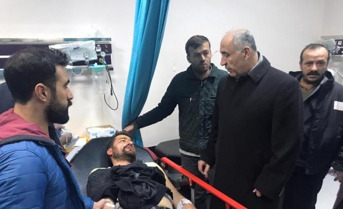 Malatya'da maden ocağı sahasında fünye patladı: 2 yaralı