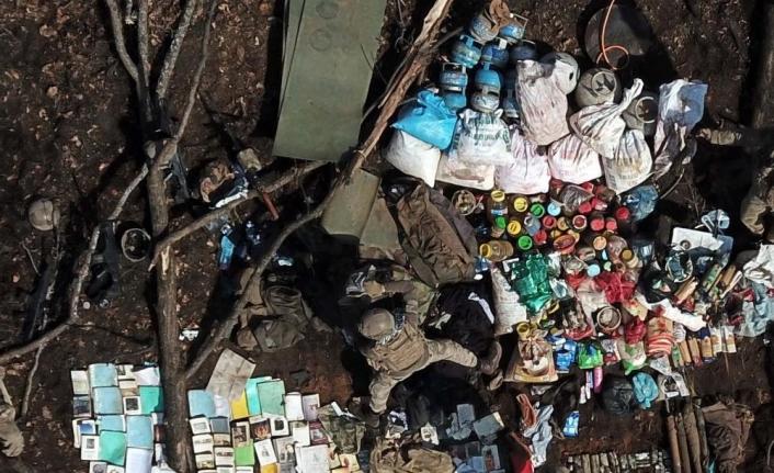 Muş'ta 5 teröristin etkisiz hale getirildiği operasyonun görüntüleri paylaşıldı