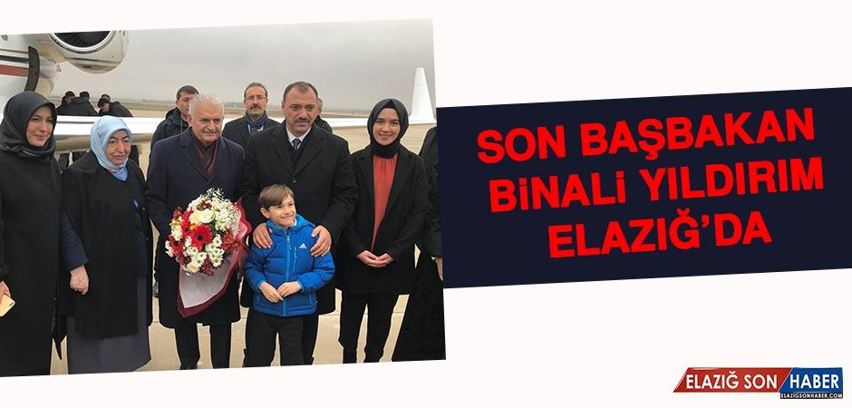 Son Başbakan Binali Yıldırım Elazığ'da