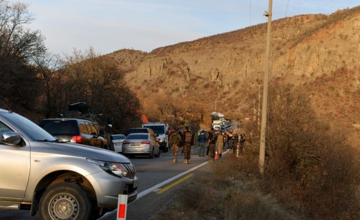 Tunceli'de devrilen askeri araçtaki 13 asker yaralandı