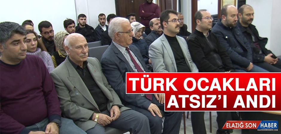 Türk Ocakları, Atsız'ı Andı