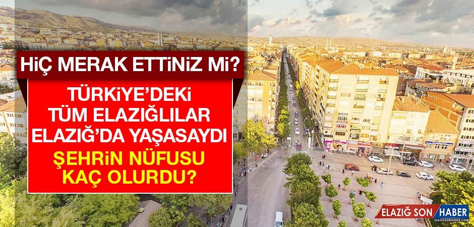 Türkiye'deki Tüm Elazığlılar Elazığ'da Yaşasaydı Ne Olurdu?