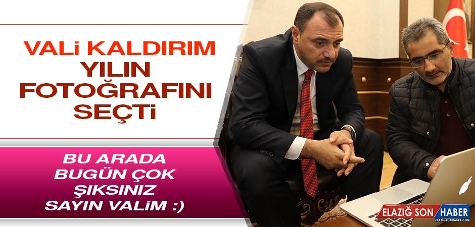 Vali Kaldırım, Yılın Fotoğrafını Seçti