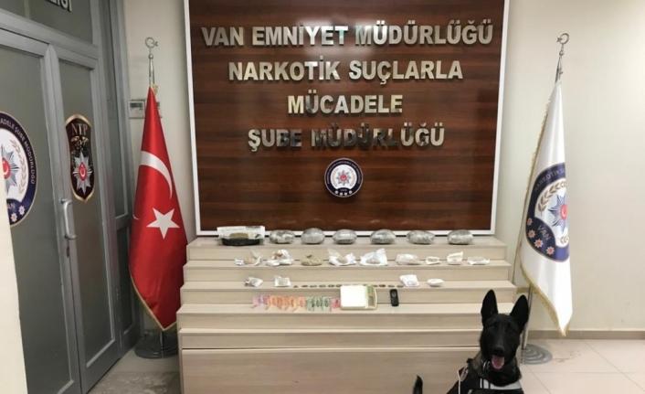 Van'da kömürlükte uyuşturucu saklayan şüpheli tutuklandı