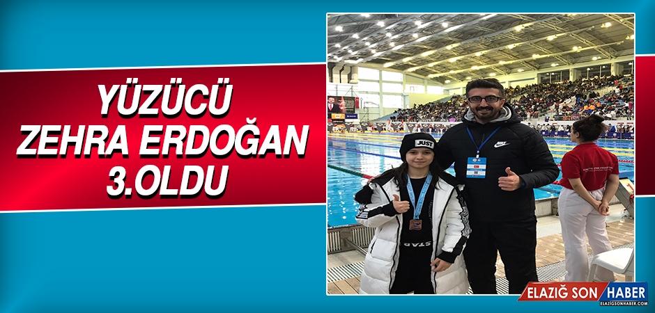 Yüzücü Zehra Erdoğan 3.Oldu