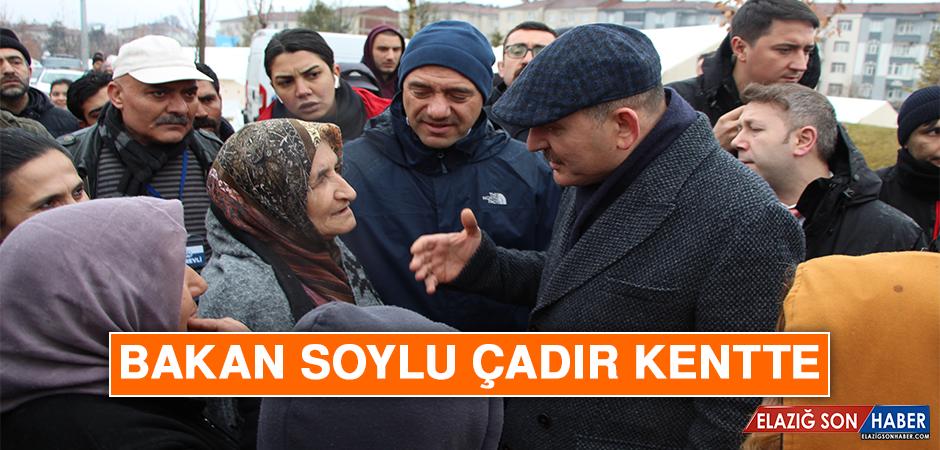 BAKAN SOYLU ÇADIR KENTTE