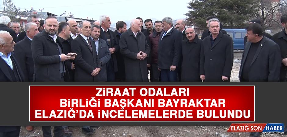 Başkan Bayraktar, Elazığ'da İncelemelerde Bulundu
