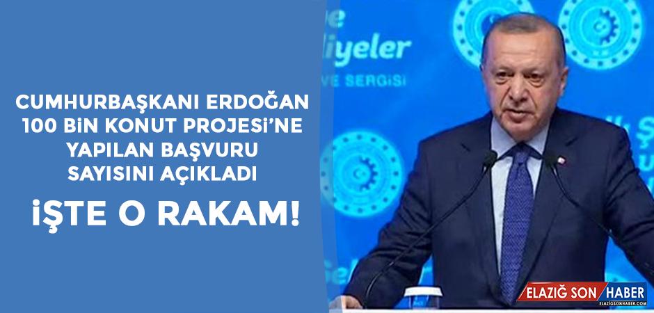 Cumhurbaşkanı Erdoğan, Yapılan Başvuru Sayısını Açıkladı