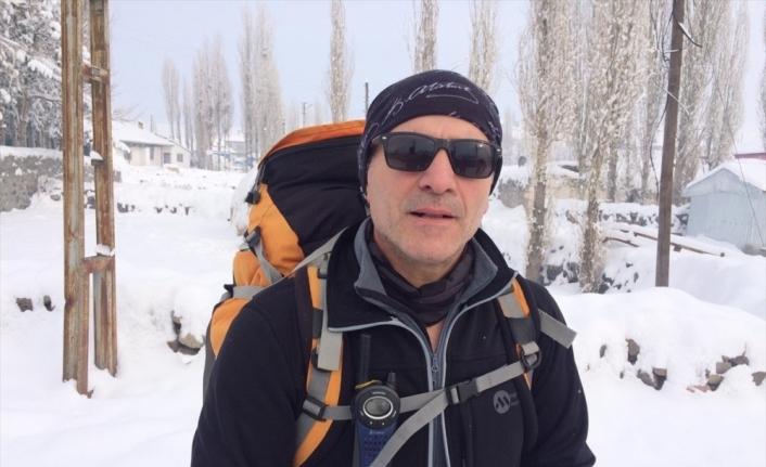 Dağcılar şehitleri anmak için Allahuekber Dağları'na tırmanmaya başladı