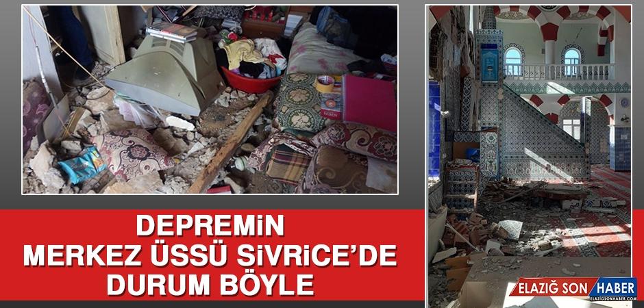 Depremin Merkez Üssü Sivrice'de Yıkıntı Büyük