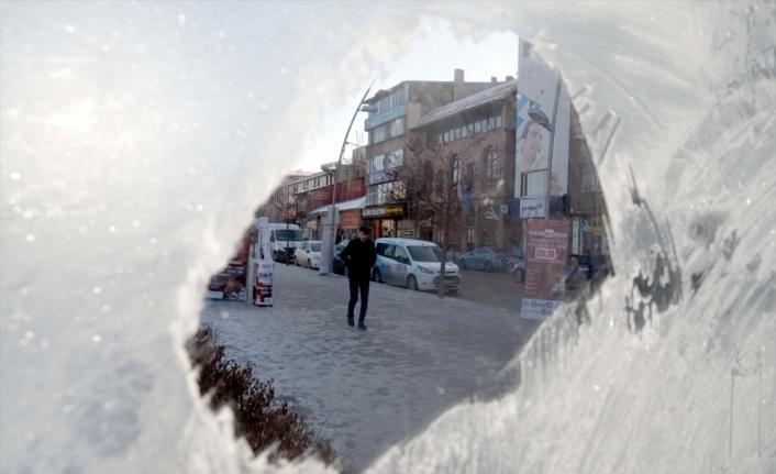 Doğu Anadolu'da dondurucu soğuklar hayatı olumsuz etkiliyor