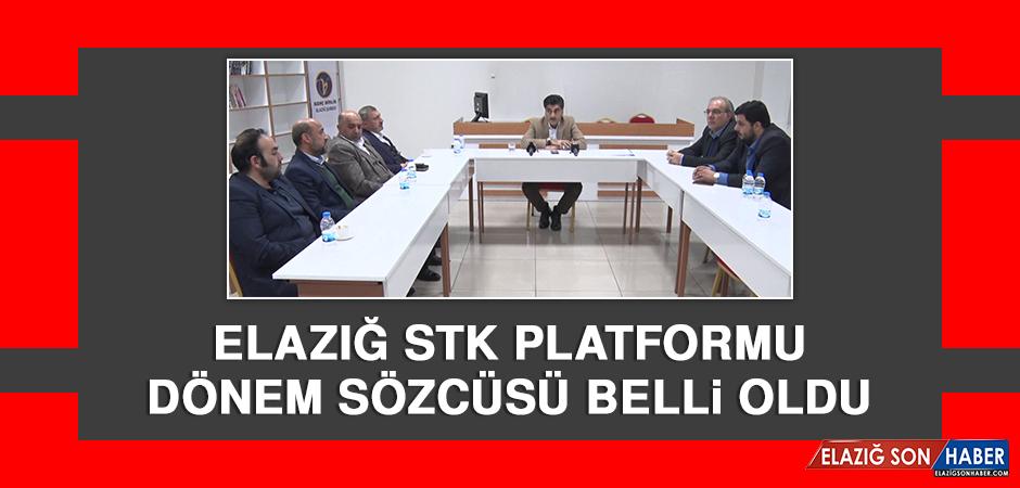 Elazığ STK Platformu Dönem Sözcüsü Belli Oldu