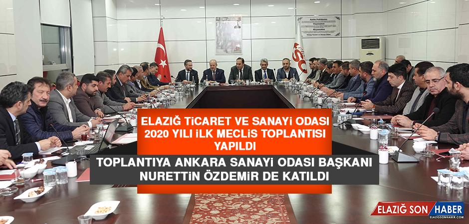 Elazığ TSO 2020 Yılı İlk Meclis Toplantısı Yapıldı