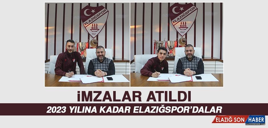 Elazığspor'da İki Futbolcunun Sözleşmesi Uzatıldı