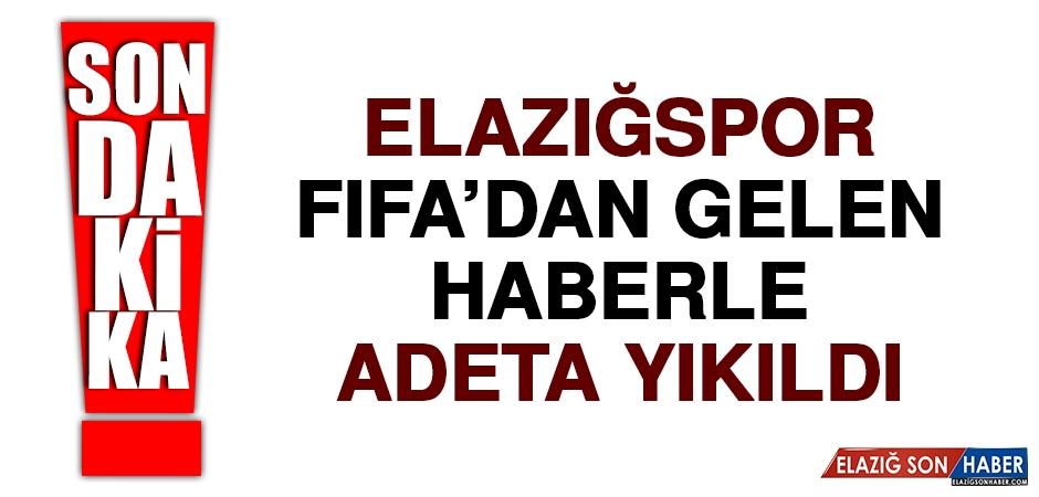 Elazığspor, FIFA'dan Gelen Haberle Adeta Yıkıldı