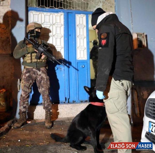 Gaziantep'te 727 Polisin Katıldığı Ve 24 Saat Sürecek Uyuşturucu Operasyonu Başlatıldı