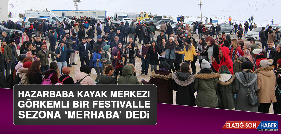 Hazarbaba Kayak Merkezi Görkemli Bir Festivalle Sezona 'Merhaba' Dedi