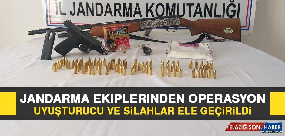 Jandarma Ekiplerinden Uyuşturucu ve Silah Operasyonu