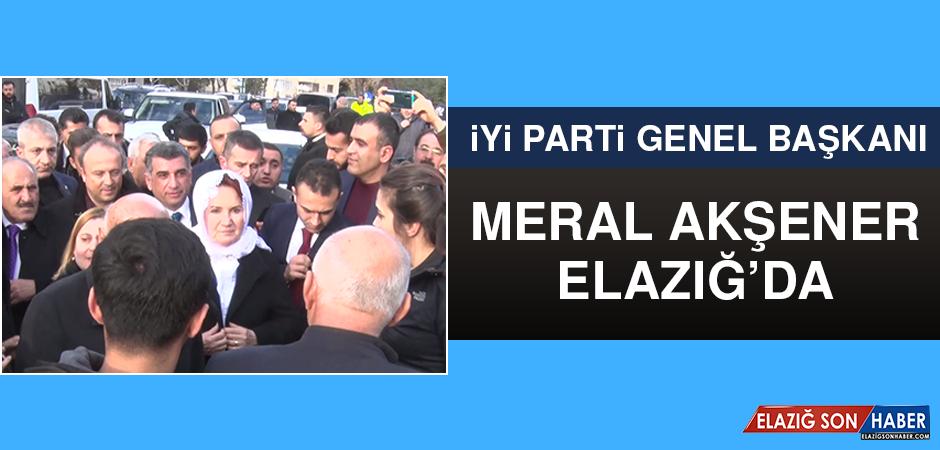 Meral Akşener Elazığ'da