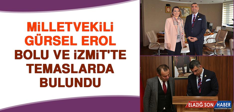 Milletvekili Erol, Bolu ve İzmit'te Temaslarda Bulundu