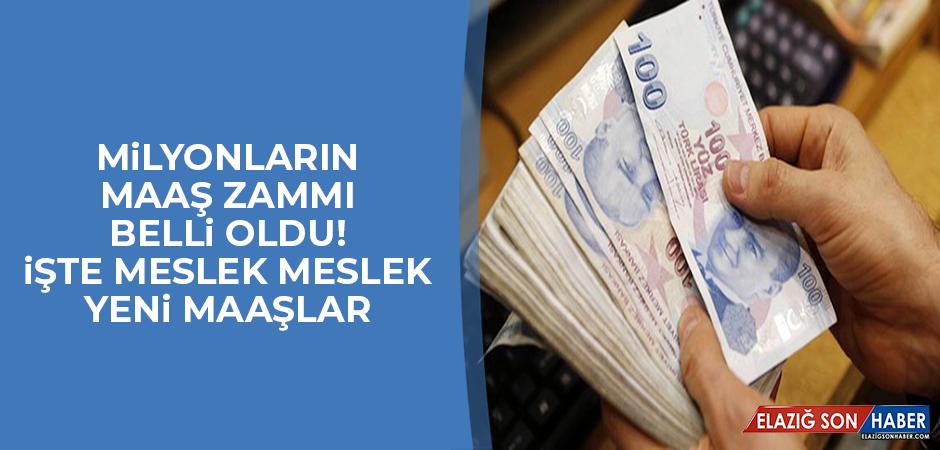MİLYONLARIN MAAŞ ZAMMI BELLİ OLDU!