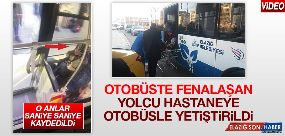 Otobüs Şoförü, Rahatsızlanan Kadını Hastaneye Yetiştirdi